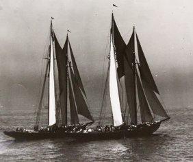 Photograph, Gertrude L. Thebaud, Bluenose, 1930