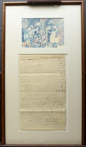 Document Slave Receipt, 1831, South Carolina
