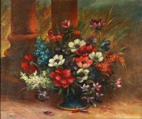 O/c Floral Arrangement, George Henry Hall