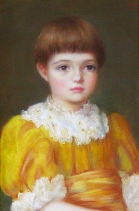 P/b 'dorothy's Gold Dress' Gertrude Robbins, 1887