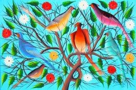 O/c Birds Of Paradise, Fritz Rock, Haitian
