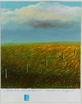 "P/p, Carol Anthony, ""fence"" ""postcard Series"""