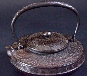 Tetsubin, Cast Iron Teakettle, Japanese