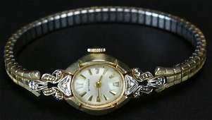 Watch Ladies 14K Wittnauer c 1950s