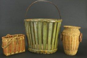 (3) Assorted Baskets