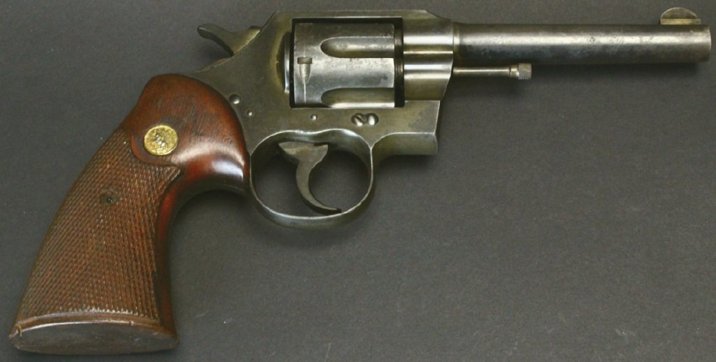 Colt .38 Police Special, 1935