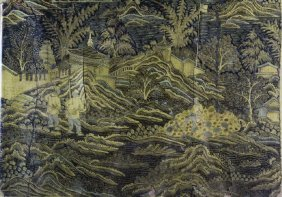 Wood Panel, Chinese Lacquer
