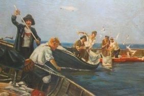 O/c 'latvian Fishermen' Yanis Osis, 1951