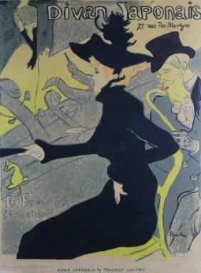 """P/p """"divan Japonais"""" By Lautrec"""