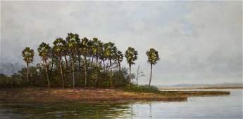 O/C Florida Everglades by Henry Parker, FL Artist