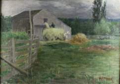 O/C, Hay Bale, Streator, Late 19th C.