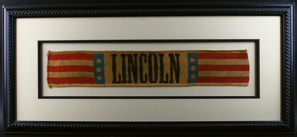 Flag, Lincoln Campaign, 1864