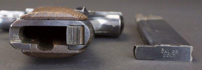 Colt, Woodsman, .22 Cal, c.1924, orig holster*FFL - 5