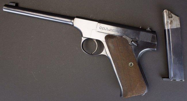 Colt, Woodsman, .22 Cal, c.1924, orig holster*FFL - 6