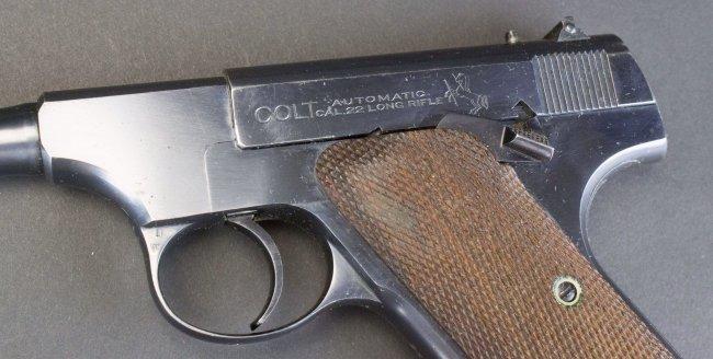 Colt, Woodsman, .22 Cal, c.1924, orig holster*FFL - 9