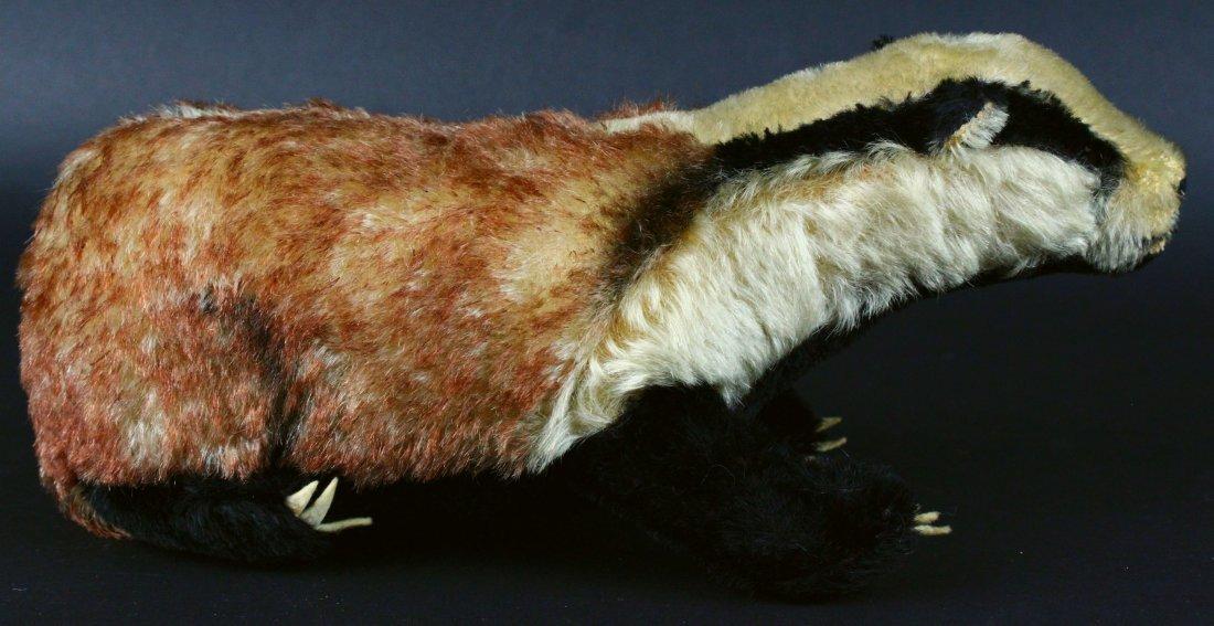 Toy, Steiff, Stuffed Badger, 20th C.