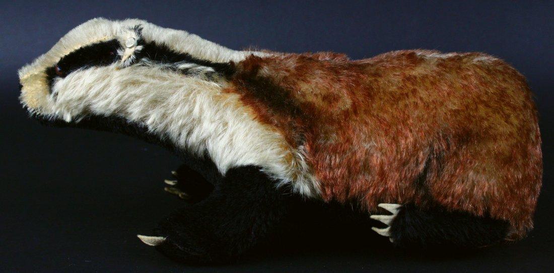 Toy, Steiff, Stuffed Badger, 20th C. - 2
