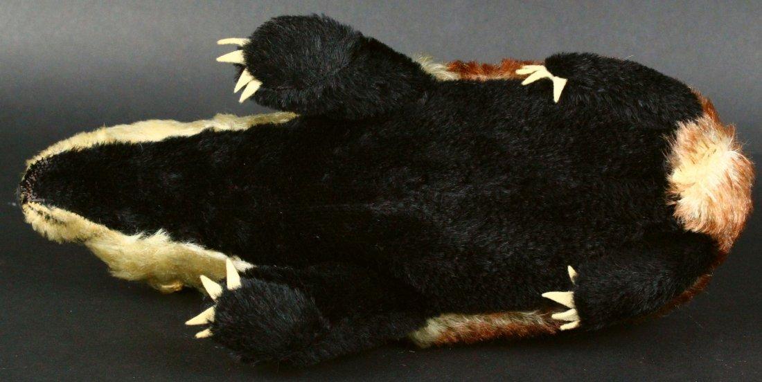 Toy, Steiff, Stuffed Badger, 20th C. - 7