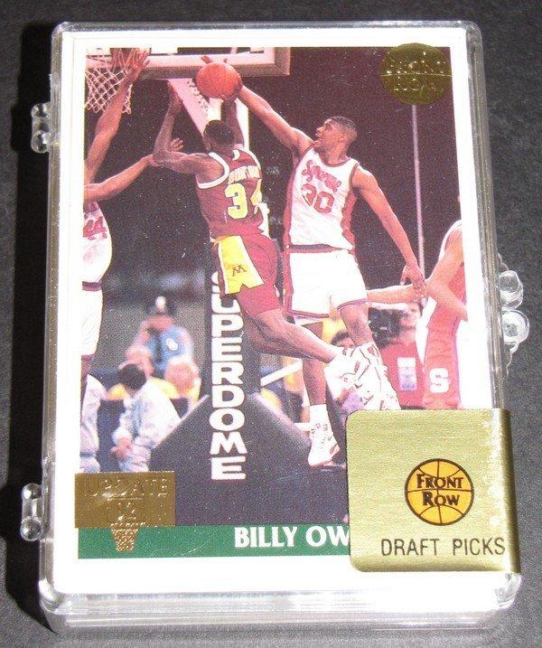 1005: 1992 Front Row Basketball Gold UpdateSet 358/1500