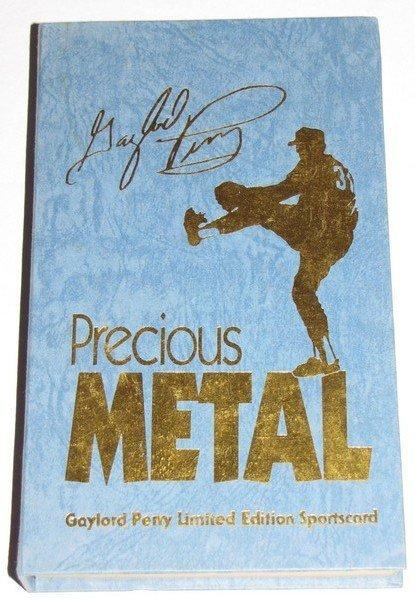 1009: 1992 Auto Gaylord Perry Precious Metals LTD Card