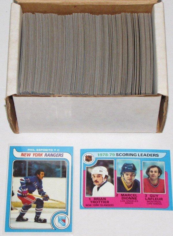 1013: 1979-80 Topps Hockey Set Near Complete