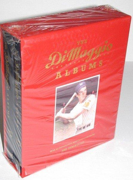 1023: The DiMaggio Albums - 2 Volume Hardbound Set NOS