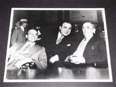 1128: Al Capone Federal Grand Jury UPI B&W Press Photo