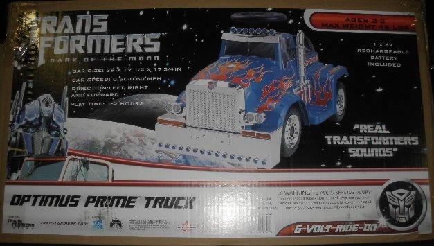 2011 Transformers Optimus Prime Truck NIB
