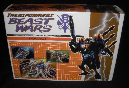 2000 Botcon Transformers Beast Wars Shokaract
