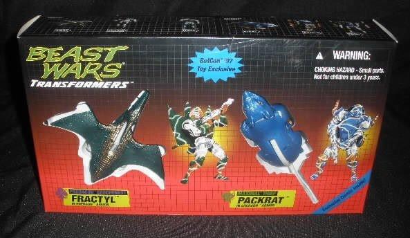 1997 Botcon Transformers Beast Wars Ex. Sealed