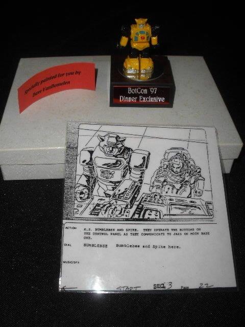 1997 Botcon Dinner Ex. Bumblebee Decoy