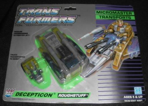 Vtg Transformers Micromasters Roughstuff MOC