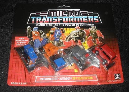 Vtg Transformers Micromaster Off Road Patrol MOC