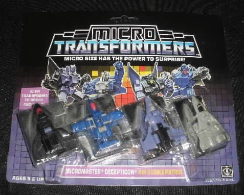 Vtg Transformers Micromaster Air Strike Patrol MOC