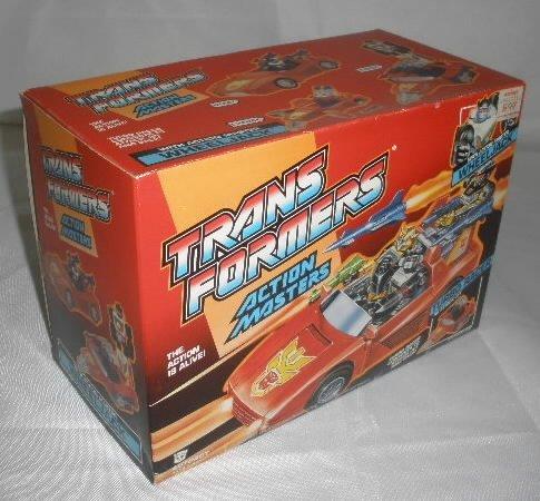 Vtg Transformers Action Master Wheeljack MIB