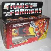 Vtg Transformers Hot Rod w/ movie poster offer