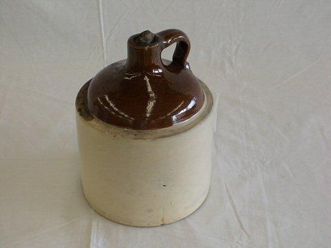 1015: Vintage 'moonshine' or whiskey jug