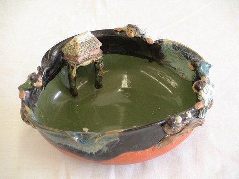 1020: Fascinating Asian bowl, possibly handmade