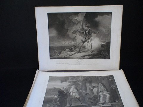 2231: Set of 8 Shakspeare prints, all published by J&J