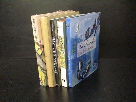 3021: Set of 5 French and Spanish art books: 1) Socieda