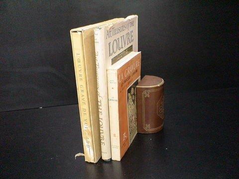 """3022: Lot of 3 art books: 1) """"L'oeuvre Grave de Vuillar"""