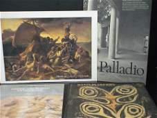 3052: Lot of 4 museum posters: 1) British Museum, Greek