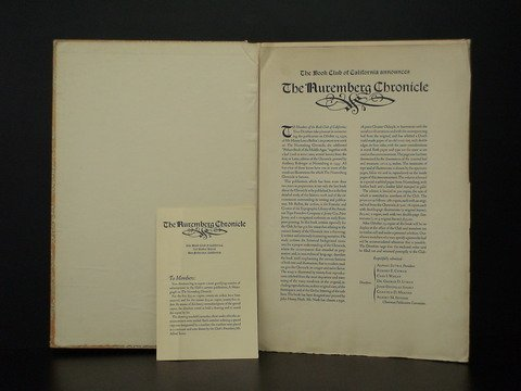4018: A Monograph of The Nuremberg Chronicle (the celeb