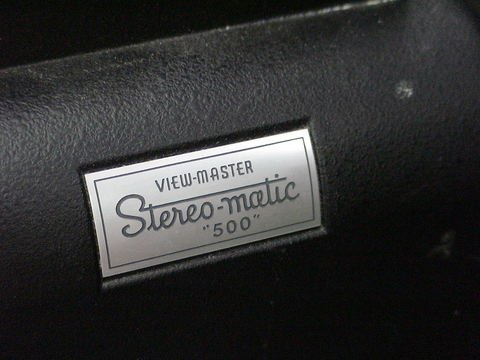 "1073: View-Master Stereo-Matic Projector ""500"" GAF - 2"