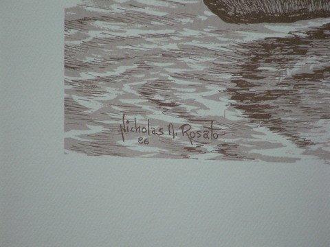 1221: 4 Prints By Nicholas A. Rosato Indians & More - 3
