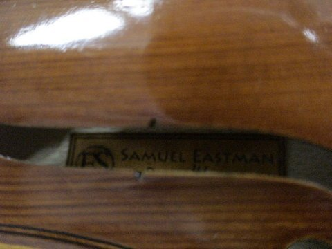 1229: VIOLIN Samuel Eastman No. VL80 - Full Size 4/4  - 3