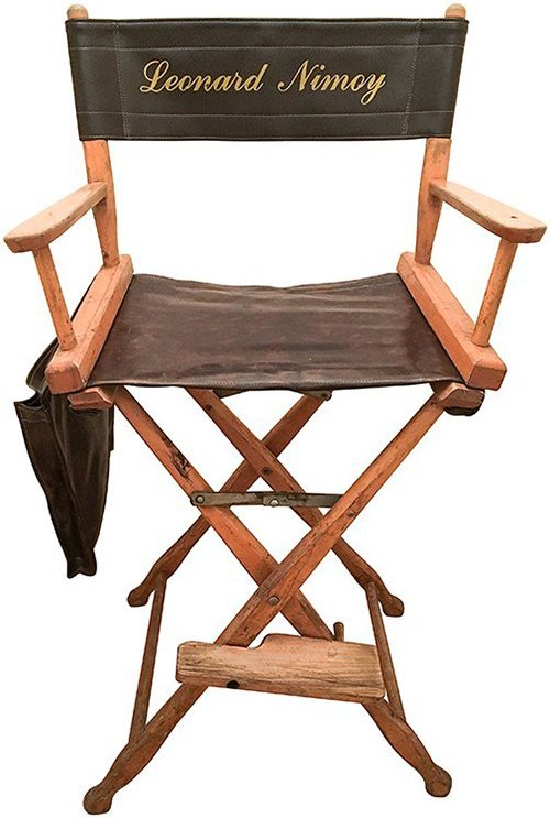 Star Trek: The Search for Spock Nimoy Director Chair