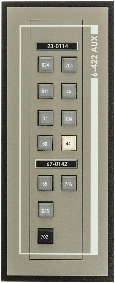 Star Trek: Enterprise NX-01 Button Panel #2