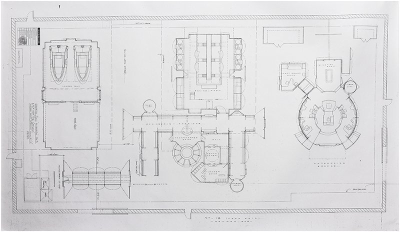 Star Trek: Enterprise Stage 18 Master Blueprint Plan