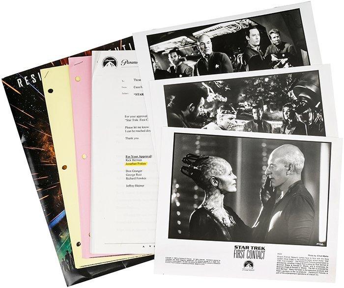 Star Trek: First Contact Press Kit & Production Set